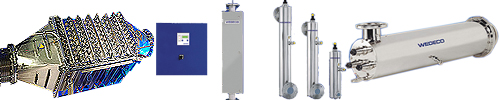wedeco ultraviolet disinfection range